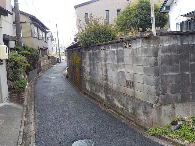 愛知県名古屋市ブロック塀の撤去工事